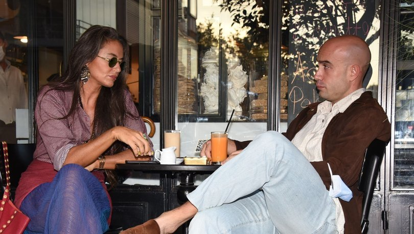 Sosyetik güzel Eda Taşpınar, sevgilisi Çağrı Atakan ile Nişantaşı'nda görüntülendi