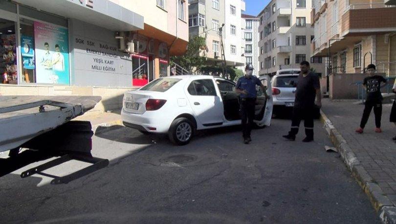 Son dakika haberi! Dur ihtarına uymayan araç kaza yaptı!