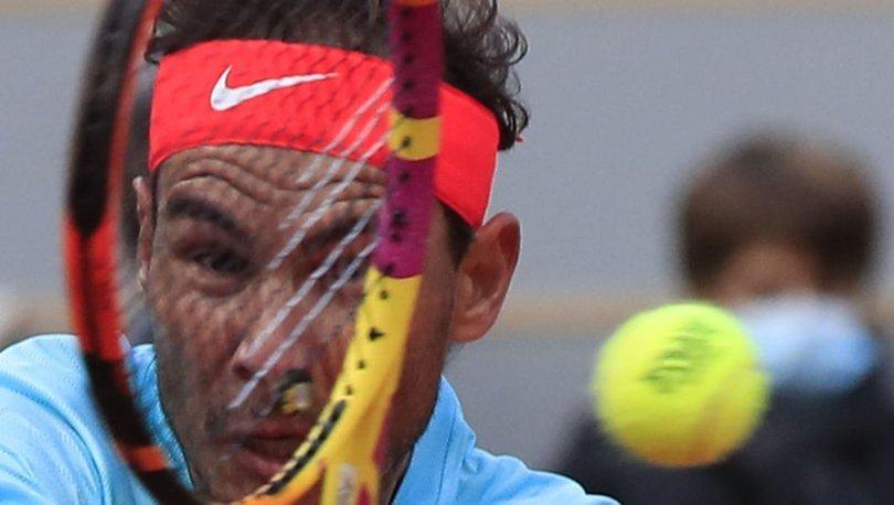 Fransa Açık'ta Nadal ve Thiem çeyrek finalde