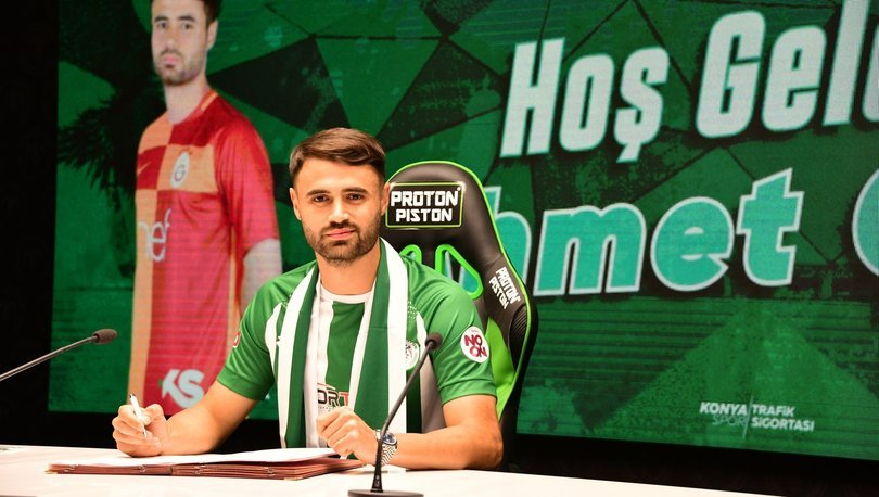 Ahmet Çalık, Konyaspor'a transfer oldu