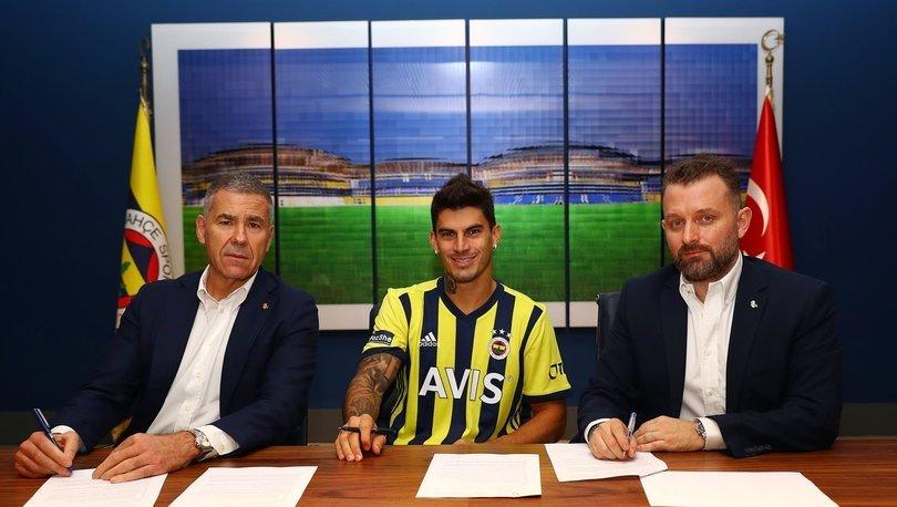 SON DAKİKA! Perotti resmen Fenerbahçe'de
