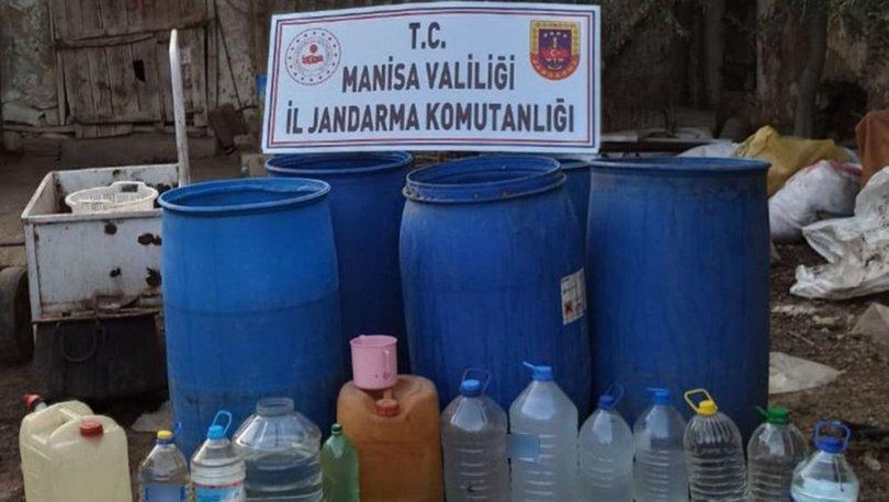 Manisa'da sahte içki operasyonu! 1820 litre sahte içki ele geçirildi