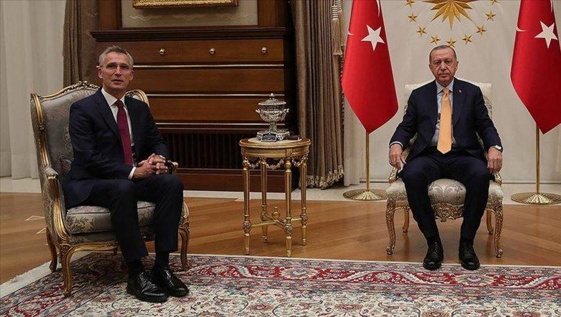 Son dakika! Cumhurbaşkanı Erdoğan, NATO Genel Sekreteri Stoltenberg'i kabul etti