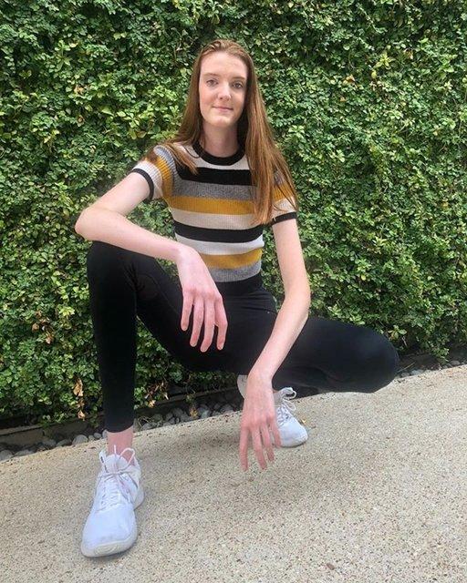 Dünyanın en uzun bacaklı kadını olarak Guinness'e girecek