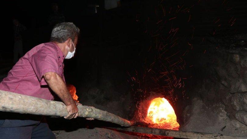 Toroslar'ınpekmezi yüzyıllık fırınlarda hazırlanıyor