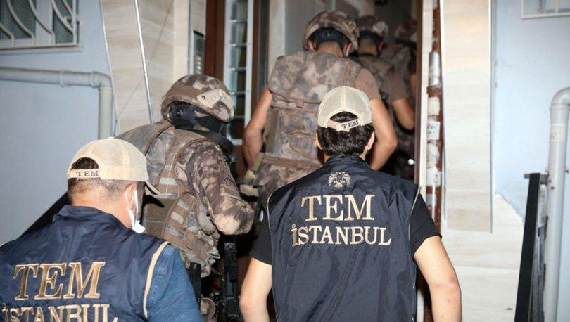 İstanbul'da terör örgütü MLKP'ye yönelik operasyon