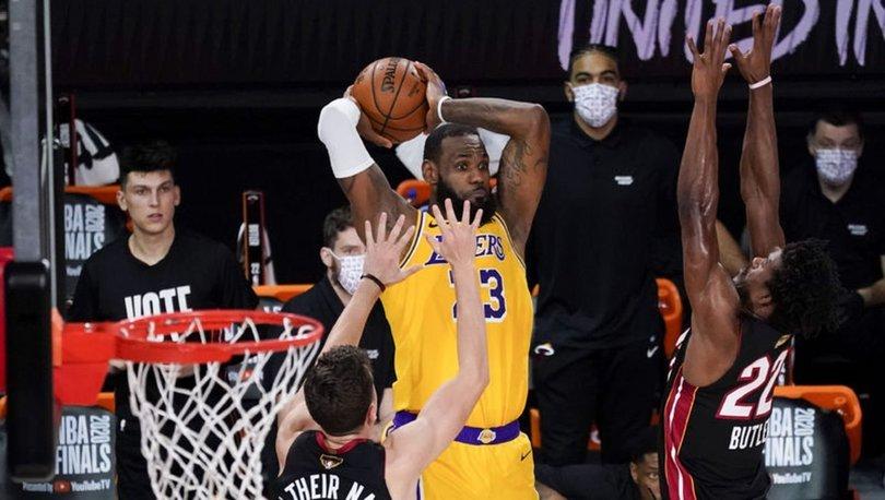 Lakers, şampiyonluk kapısını araladı