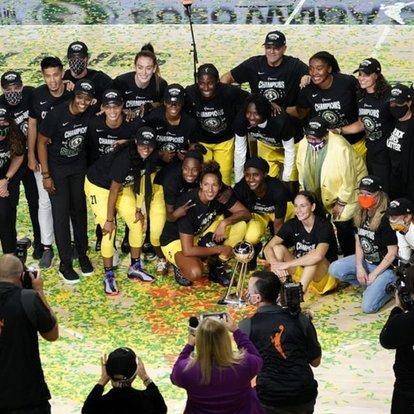 WNBA'de şampiyon Seattle Storm