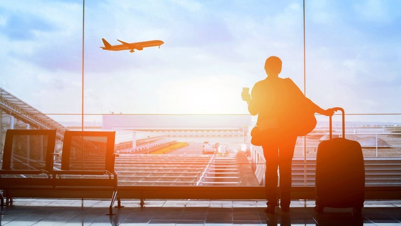 Eylülde hava yoluyla yaklaşık 9,5 milyon yolcuya hizmet verildi