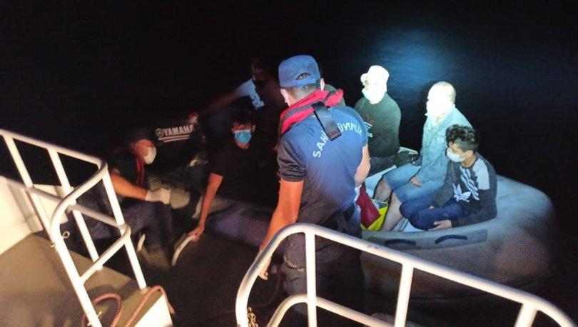 Türk kara sularına itilen 11 sığınmacı kurtarıldı - haberler
