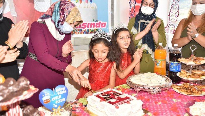Şehit Adil Kozanoğlu'nun kızı Irmak Kozanoğlu için doğum günü kutlaması düzenlendi