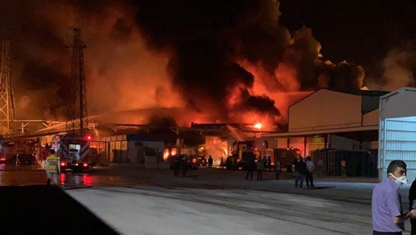 SON DAKİKA HABERİ! Konya'daki şeker fabrikasında yangın çıktı