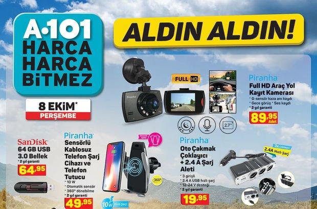 A101 8 Ekim haftanın indirimli ürünleri