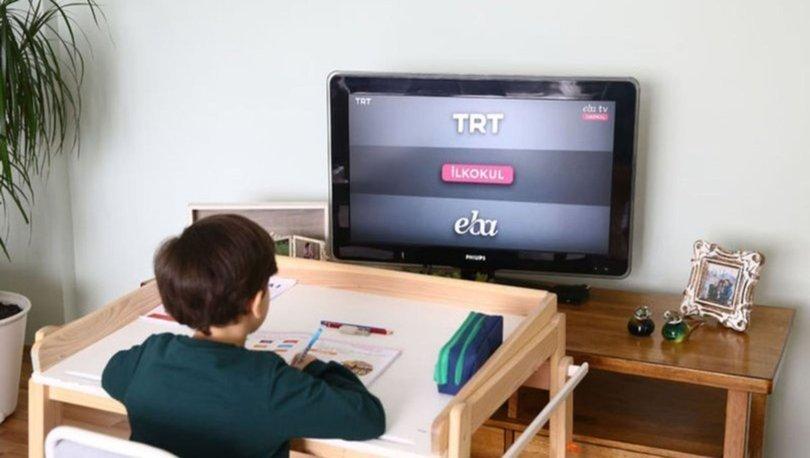 EBA TV ilkokul, ortaokul, lise ders programı