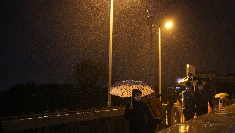 Meteoroloji'den son dakika sağanak yağış uyarıları geliyor