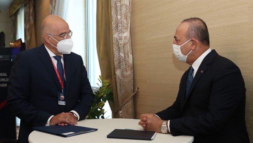 Son dakika... Çavuşoğlu ve Yunan mevkidaşı mutabakata vardı! - Haberler