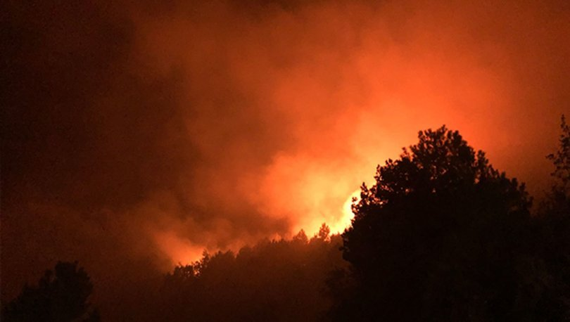 Kastamonu'da korkutan yangın! Yerleşim yerlerini tehdit ediyor