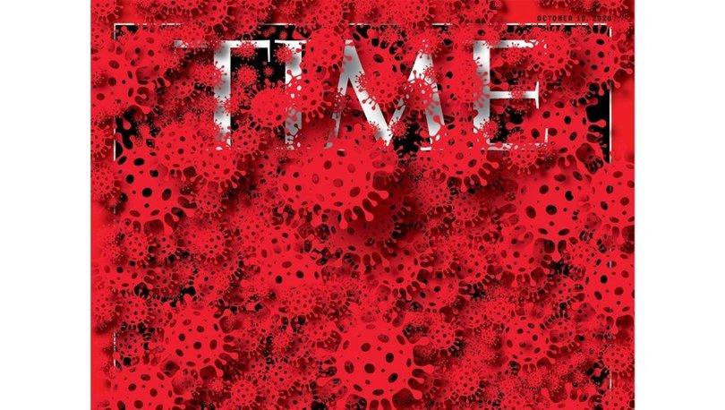 Time'dan çarpıcı Beyaz Saray ve koronavirüs kapağı! - Haberler