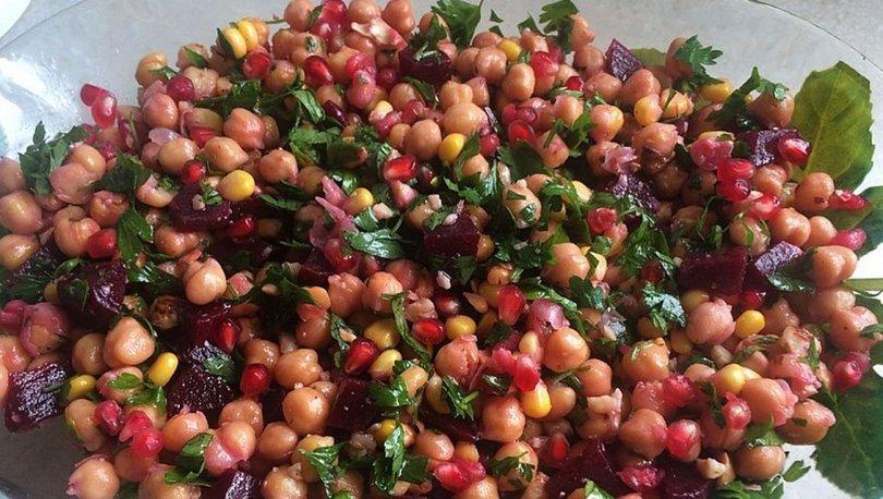 Nohut salatası tarifi, nasıl yapılır?