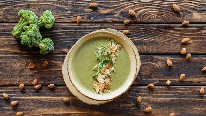 Bademli brokoli çorbası tarifi, nasıl yapılır?