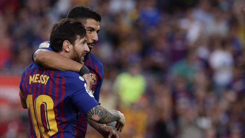 Luis Suarez: Messi, Barcelona beni kovmuş gibi hissetti