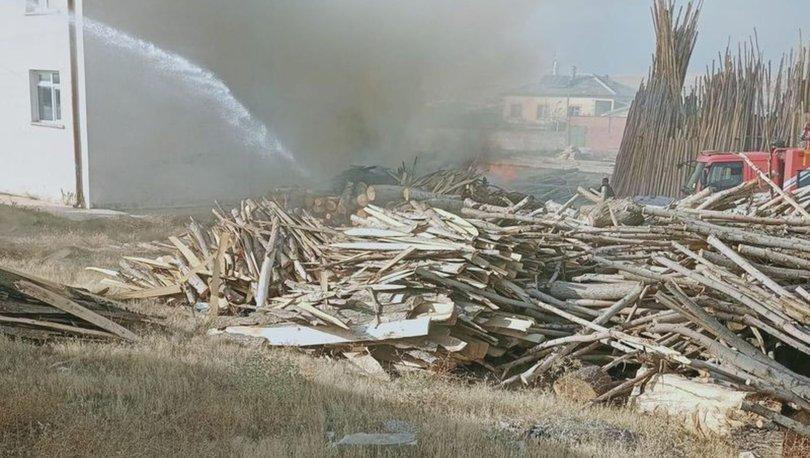 Konya'da besihane yangını! Yangın 3 saatte söndürüldü