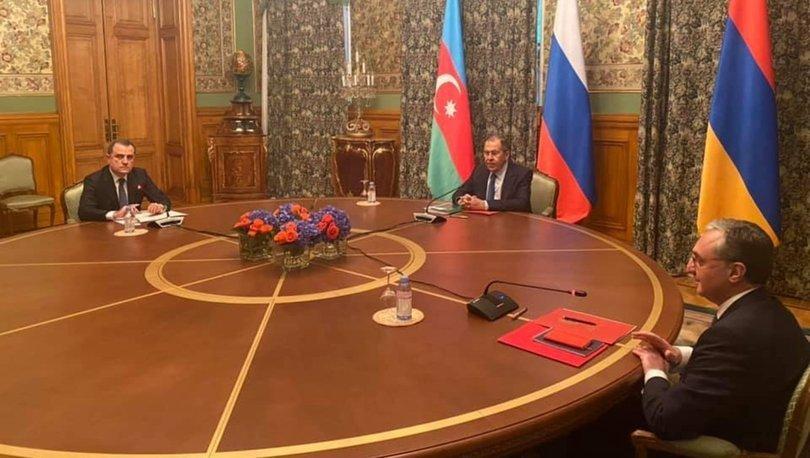 Son dakika: Moskova'da kritik Azerbaycan-Ermenistan Dışişleri Bakanları bir araya geldi! - Haberler