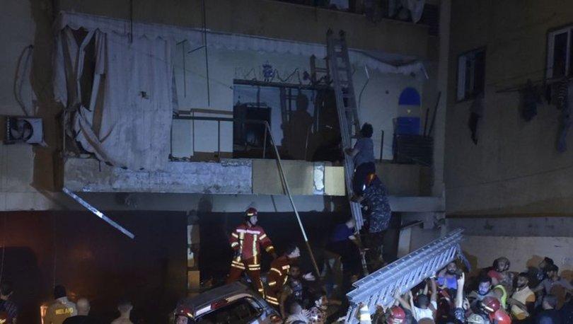 Lübnan'da korkutan patlama! 4 kişi öldü