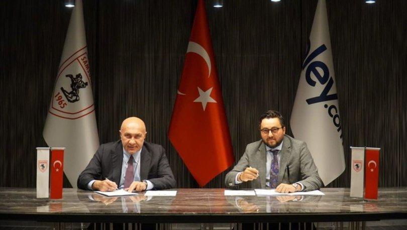 Samsunspor'da yeni sponsor