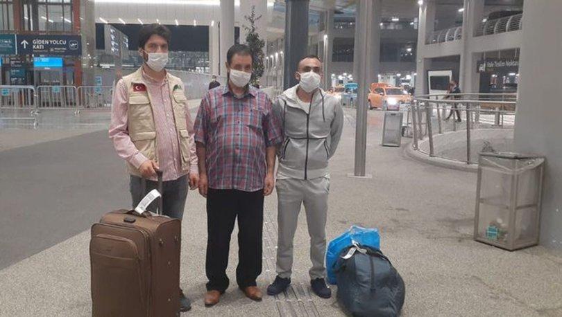 Libya'da alıkonulan iki Türk Türkiye'ye döndü