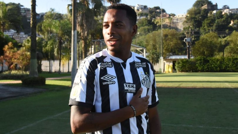 Robinho, eski takımı Santos'a sembolik ücretle transfer oldu
