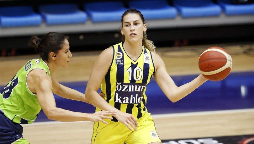 Fenerbahçe Öznur Kablo: 91 - Nesibe Aydın: 85