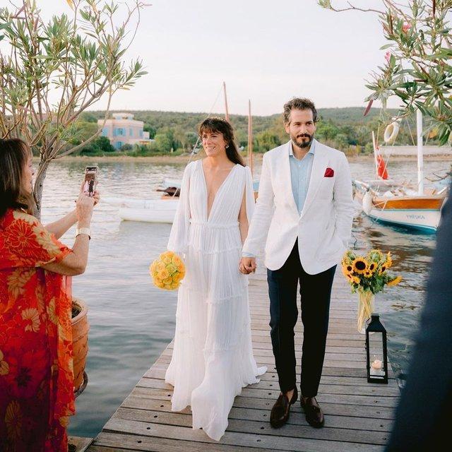Ayşe Boyner ile Cem Telvi evlendi - Magazin haberleri