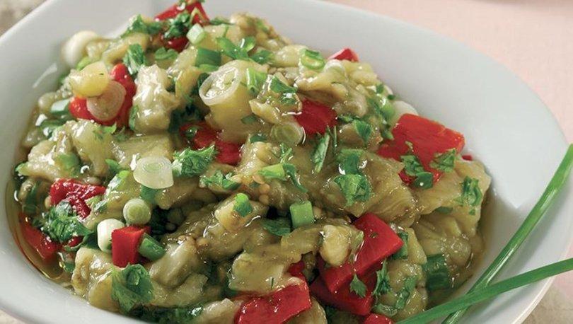 Patlıcan salatası tarifi, nasıl yapılır?