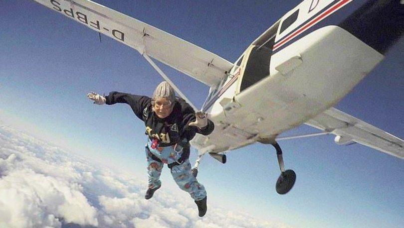 Dünyanın en yaşlı kadın paraşütçüsü hayatını kaybetti