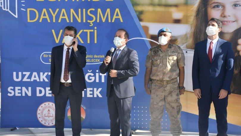 Şırnak'ta başlatılan kampanyada sadece 30 dakikada 2 bin tablet bağışlandı