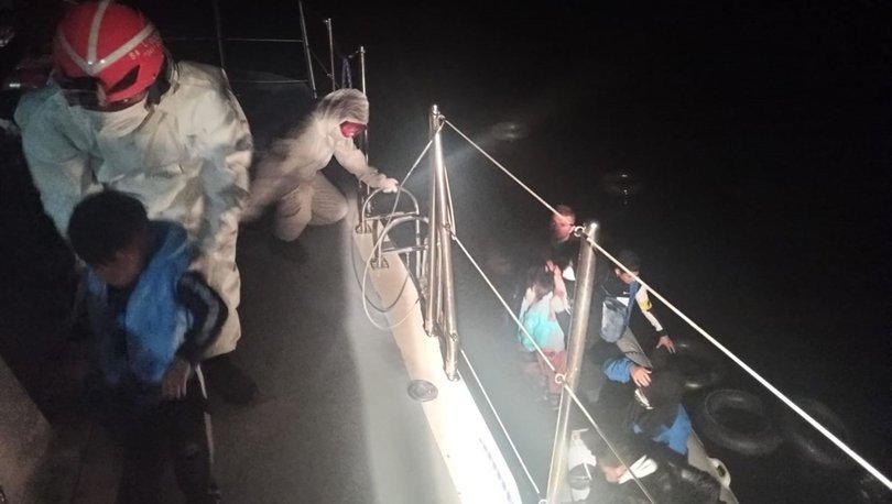 Son dakika: Denizde mahsur kalan sığınmacılar için seferberlik!