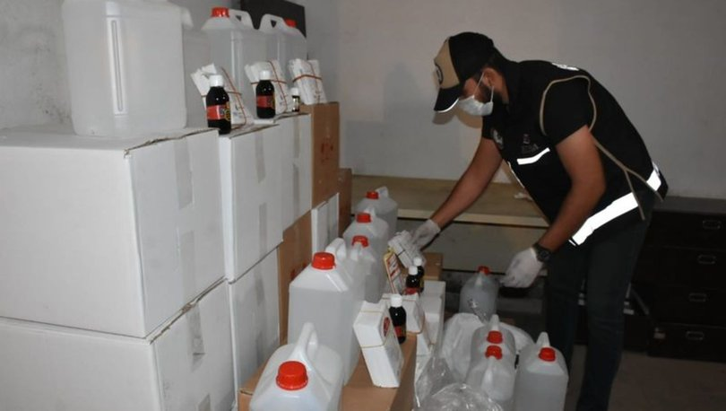 Son dakika haberi! İzmir'de sahte içki operasyonu! Tam 5 ton ele geçirildi