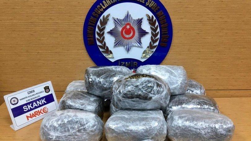 İzmir'deki uyuşturucu operasyonunda 5 gözaltı