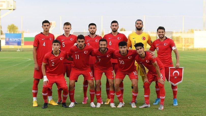 19 Yaş Altı Milli Futbol Takımı, hazırlık maçında Bulgaristan'a 2-1 yenildi