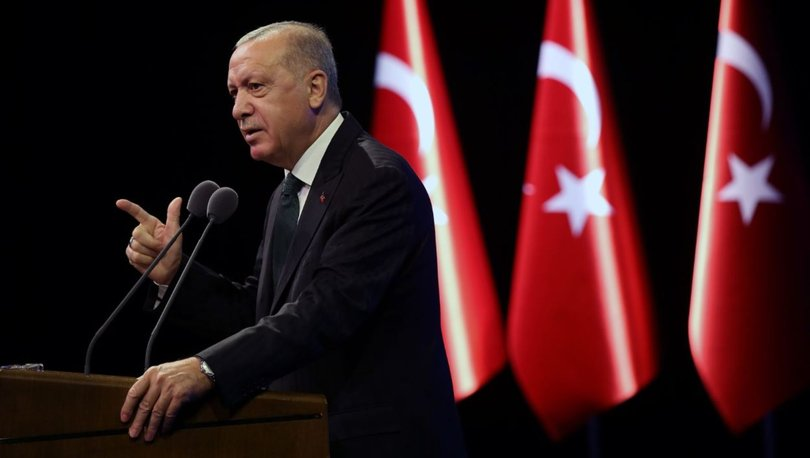 Cumhurbaşkanı Erdoğan'dan Başkent mesajı