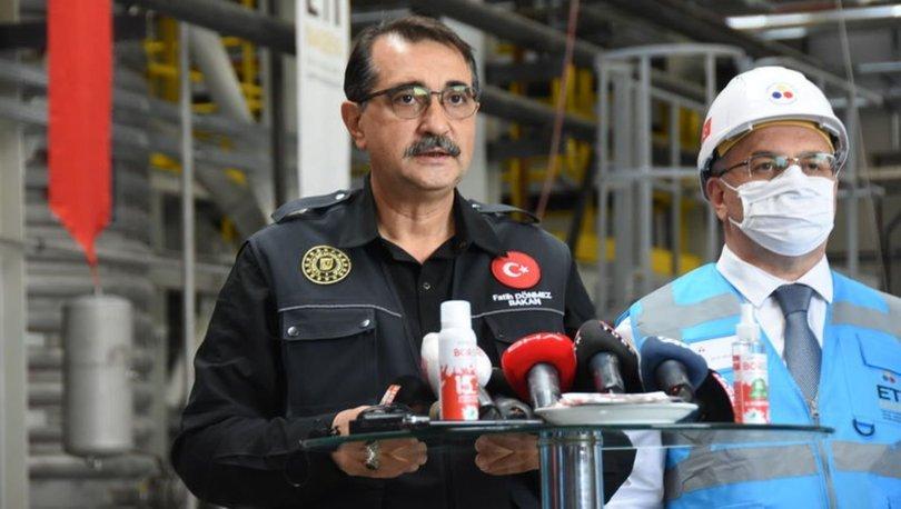 Bakan Dönmez'den yerli lityum açıklaması: