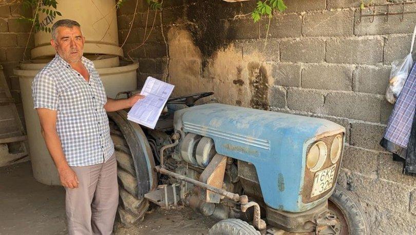 SON DAKİKA HABERİ! 12 yıl önce ölen traktör sahibine, İstanbul'da köprüden kaçak geçiş cezası