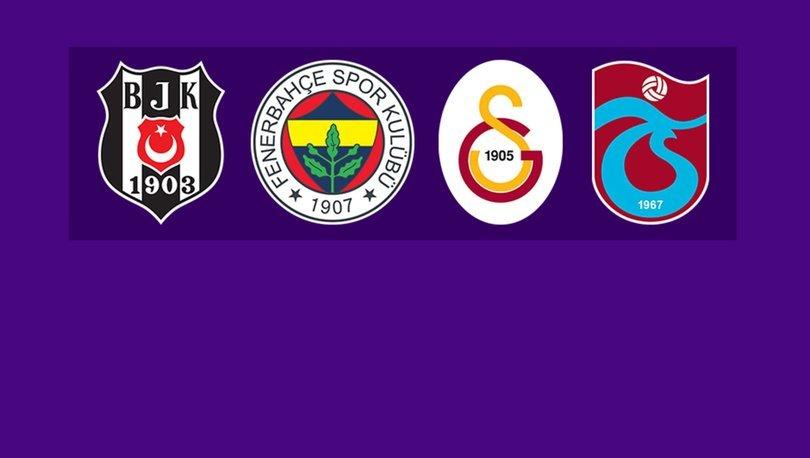 Beşiktaş, Fenerbahçe, Galatasaray ve Trabzonspor'un borcu 13 milyar lirayı aştı