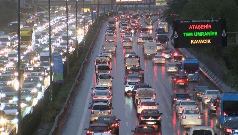 SON DAKİKA HABERİ! İstanbul'da trafik yoğunluğu - HABERLER