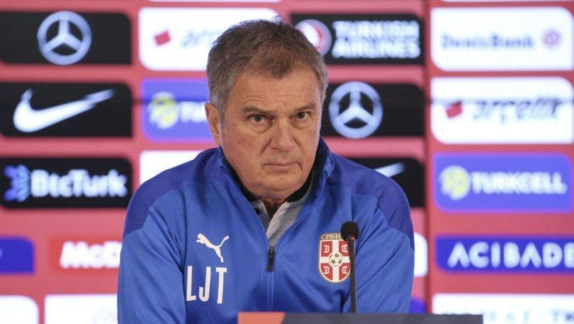 Ljubisa Tumbakovic: Kazanmak için sahada olacağız