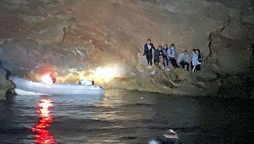 Koyda mahsur kalan sığınmacılar kurtarıldı - haberler