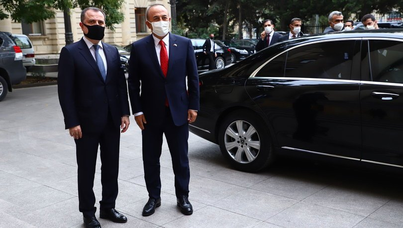 Son dakika: Bakan Çavuşoğlu, Azerbaycanlı mevkidaşı ile görüştü