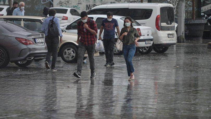 Son dakika ISLANACAĞIZ: İstanbul'da sağanak etkili oluyor