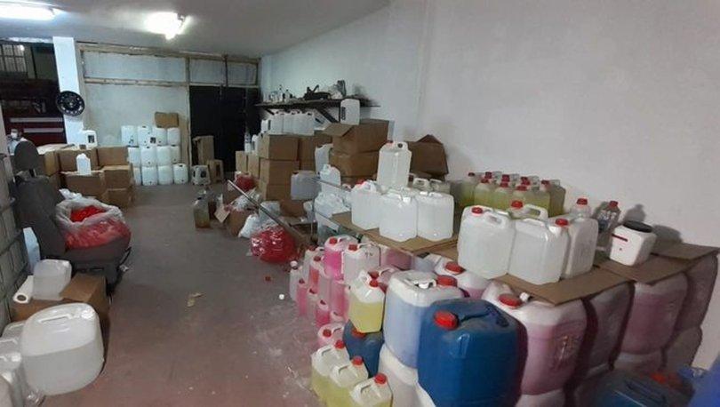 Başakşehir'de kaçak alkol operasyonu: 7 ton alkol ele geçirildi